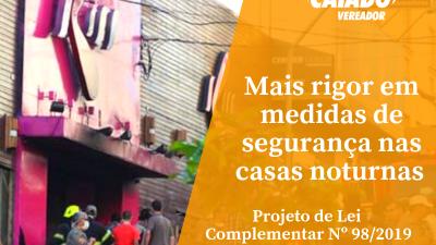 Mais rigor em medidas de segurança em casas noturnas do Rio
