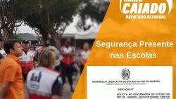Caiado solicita ao Governador Segurança Presente nas Escolas Públicas do Rio