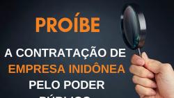 Projeto de lei de Caiado proíbe a contratação de empresas inidôneas pelos poderes públicos