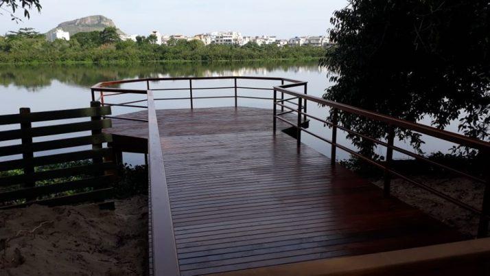 Novo deck da Lagoinha das Taxas