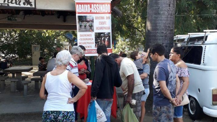 Caiado pede apoio da Acija para Segurança Presente em Jacarepaguá