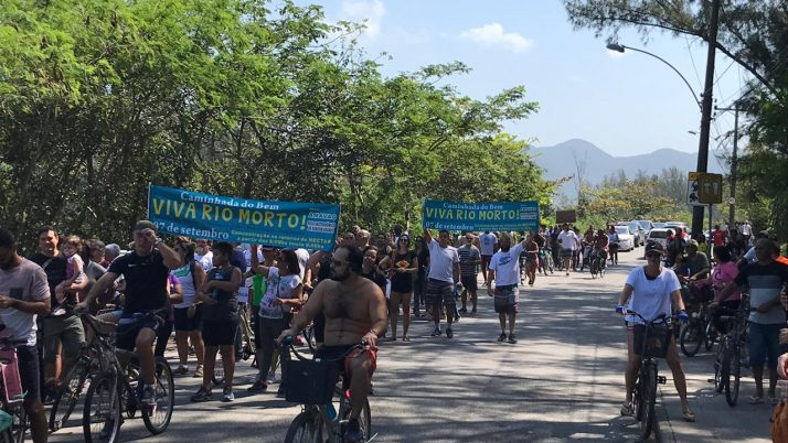 Estrada do Rio Morto: Após nova solicitação do Deputado Caiado, a Prefeitura responde com o orçamento