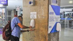 APROVADO: Estações de transportes terão que oferecer álcool em gel