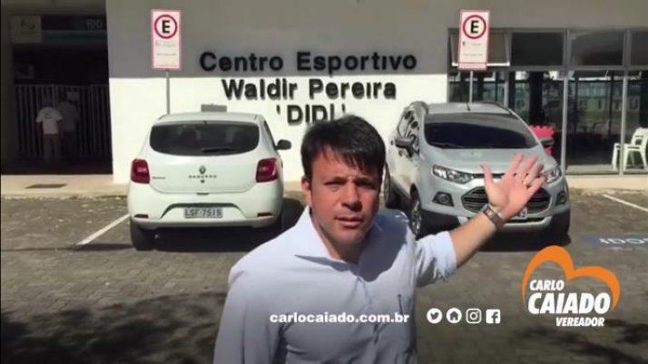 Caiado apresenta projeto de lei que preserva a área do Centro Esportivo Didi, no Recreio