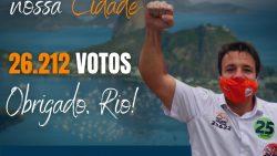 Caiado agradece população por sua reeleição para a Câmara de Vereadores do Rio