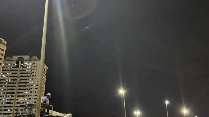 Melhorias na iluminação pública