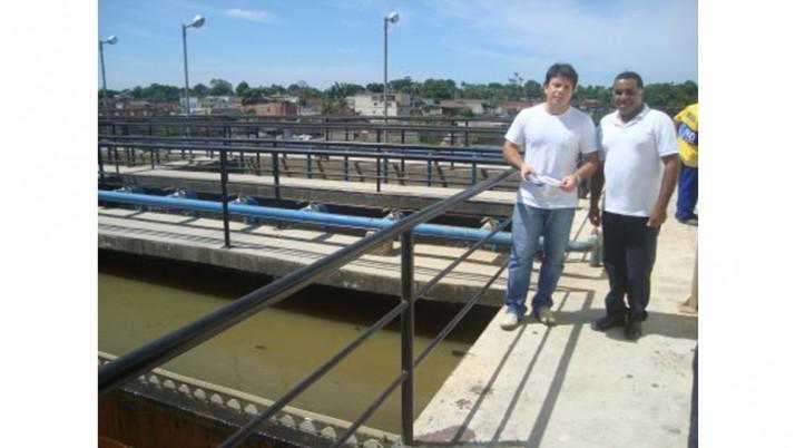 Inaugurada estação de esgoto de Sepetiba
