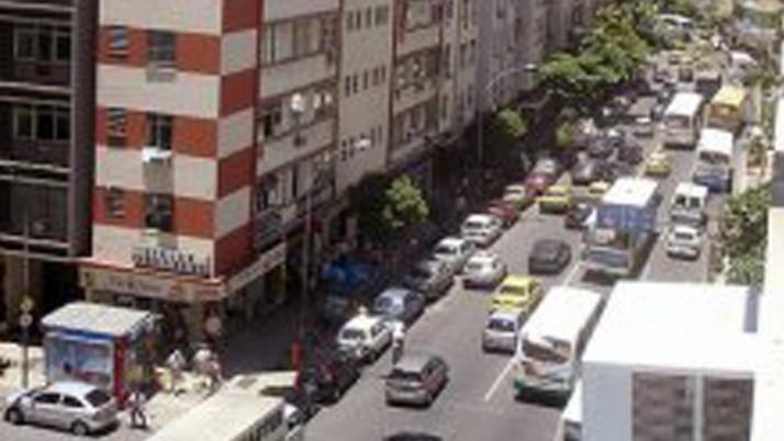 Corredor de ônibus: mudanças em Copacabana
