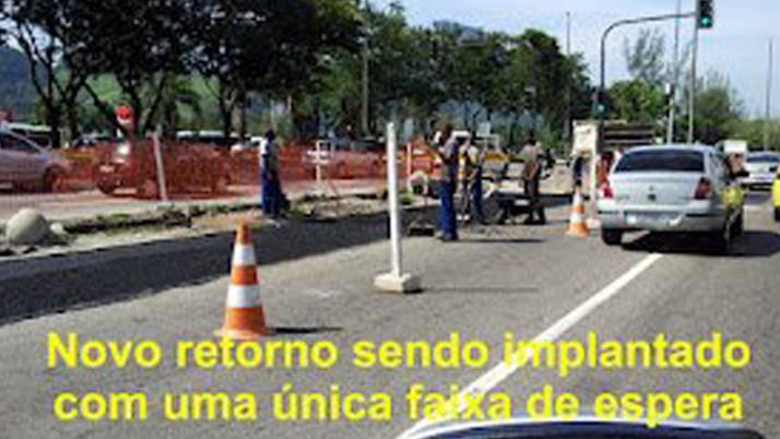 Caiado pede informações sobre retorno na Avenida das Américas