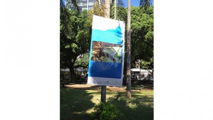 Praça Nossa Senhora da Paz recebe mostra com fotos históricas