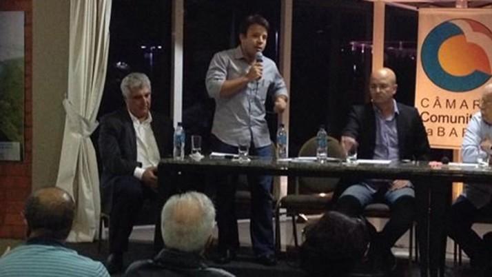 Em audiência na Câmara Comunitária da Barra, Caiado reafirma seu posicionamento contrário ao BRT Lote Zero