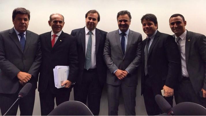 Comissão Representativa presidida por Caiado vai a Brasília acompanhar a discussão da reforma política