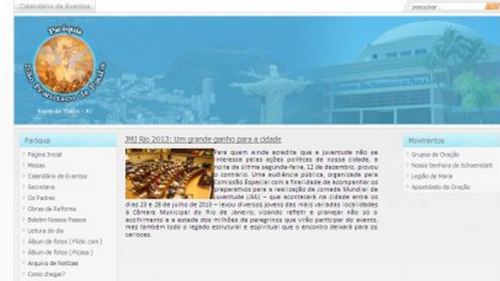 JMJ Rio 2013: Um grande ganho para a cidade