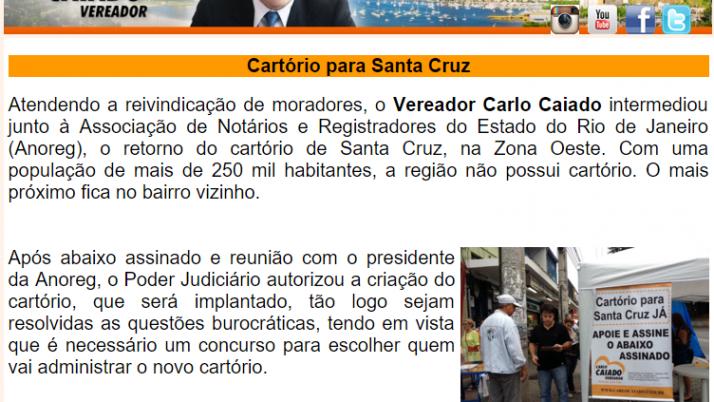 Diário da Zona Oeste 09/2015