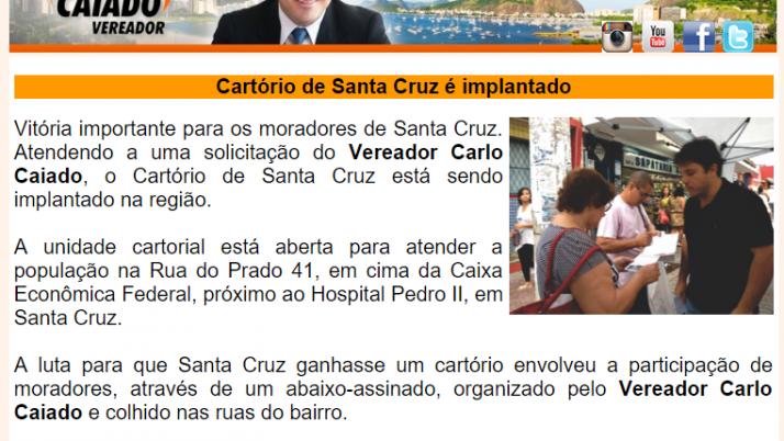 Diário da Zona Oeste 11/2015
