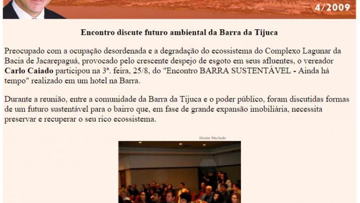 Diário da Barra 08/2009