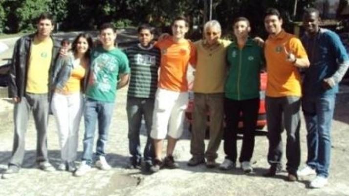 Juventude DEM Estadual acompanha Gabeira no interior