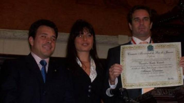 Medalha Pedro Ernesto ao subsecretário-geral de Segurança do Estado