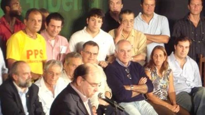 Vereador Caiado participa do lançamento da pré-candidatura de Gabeira