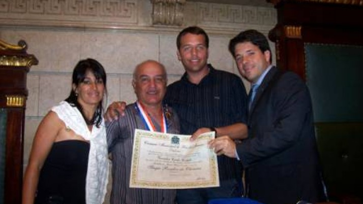 Medalha Pedro Ernesto a Sérgio Rosalvo de Oliveira