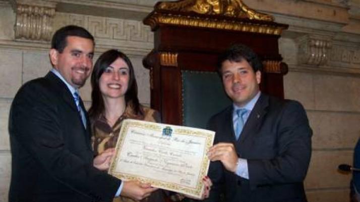 Título de Cidadão Honorário ao delegado Carlos Augusto Nogueira Pinto