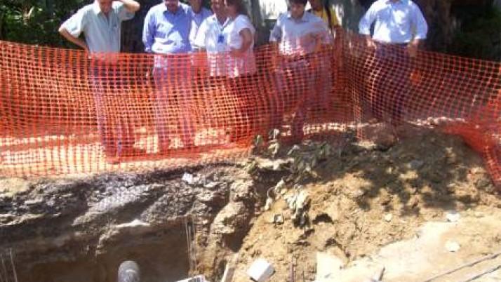 Comissão de Saneamento da Câmara Municipal vistoria obras em Sepetiba