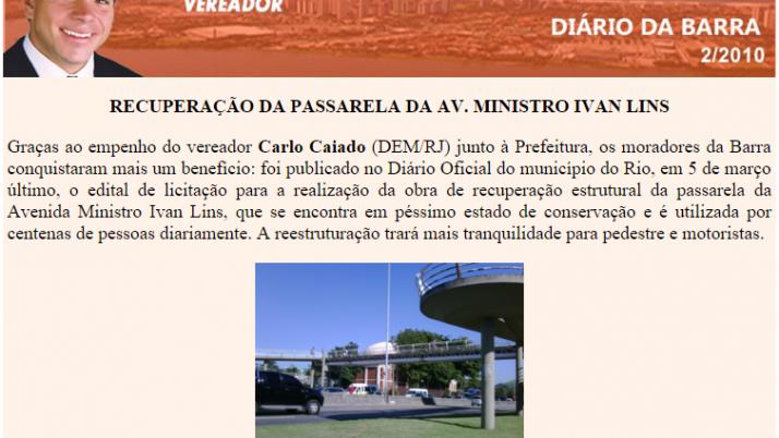 Diário da Barra 02/2010