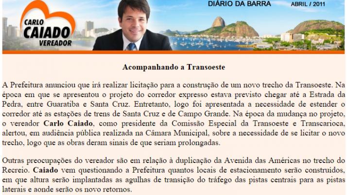 Diário da Barra 04/2011