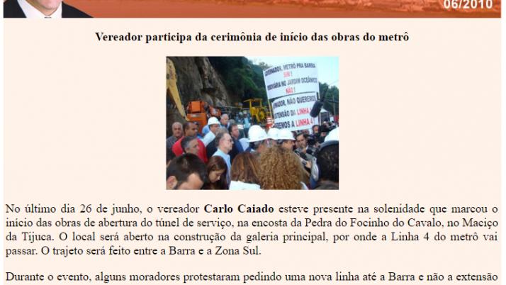 Diário da Barra 06/2010