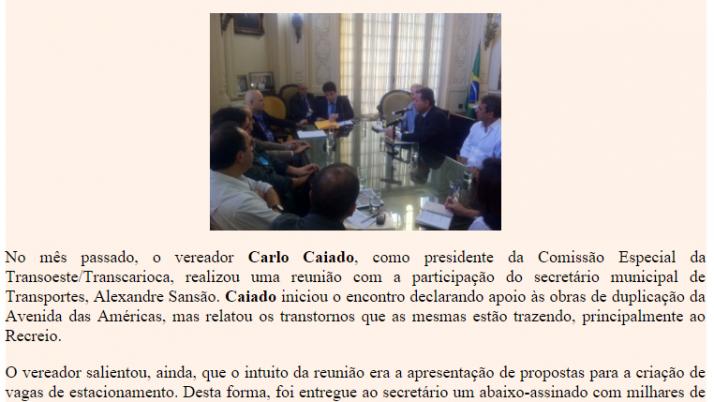 Diário da Barra 06/2011