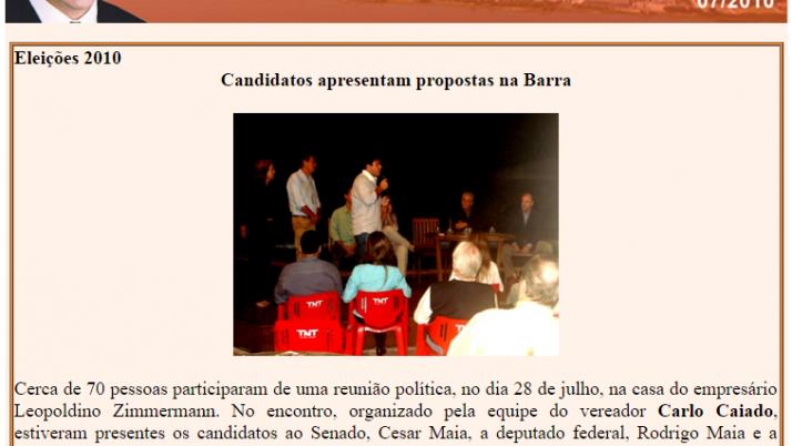 Diário da Barra 07/2010