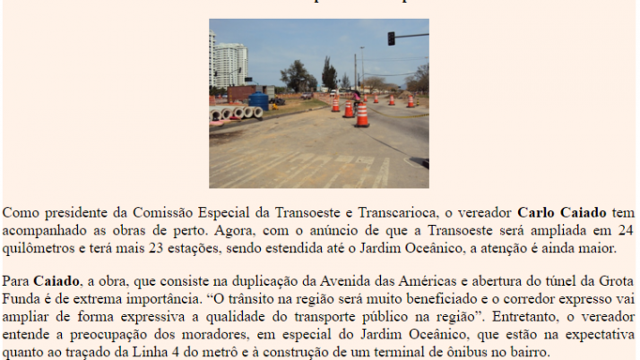 Diário da Barra 09/2010