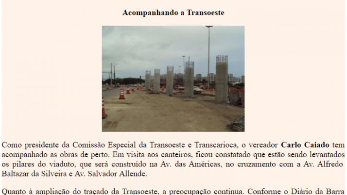 Diário da Barra 10/2010
