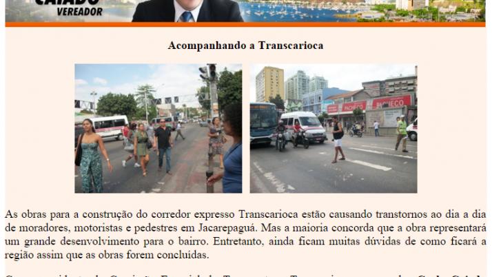 Diário de Jacarepaguá 08/2011