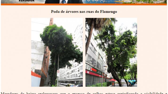Ver. Carlo Caiado – Diário do Flamengo, Glória, Largo do Machado e Catete 05/2011