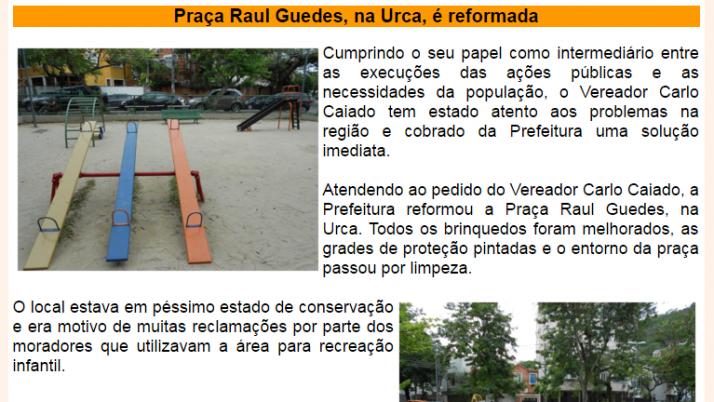 Ver. Carlo Caiado – Diário do Flamengo, Glória, Largo do Machado e Catete 10-2013