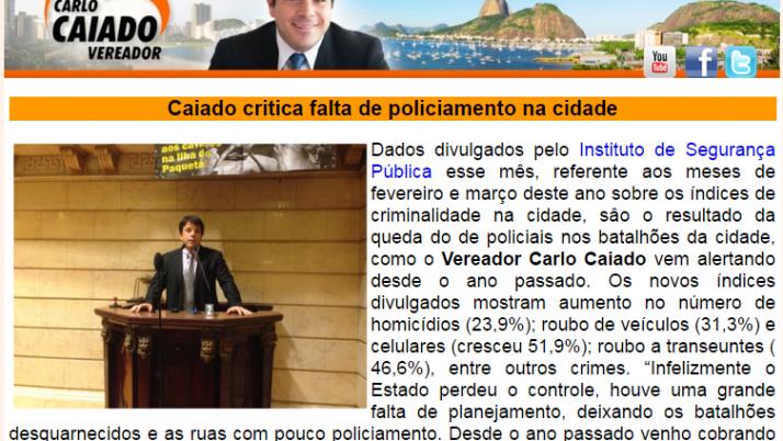 Ver. Carlo Caiado – 05/2014