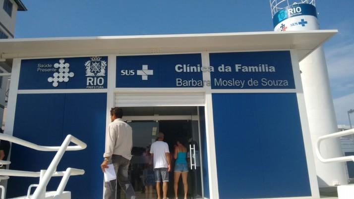 Jacarepaguá ganha mais uma Clínica da Família