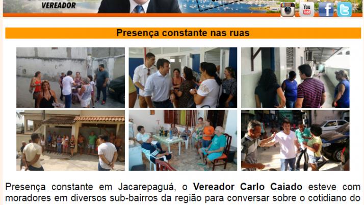 Ver. Carlo Caiado – Diário de Jacarepaguá 04/2016
