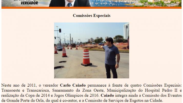 Ver. Carlo Caiado – 03/2011