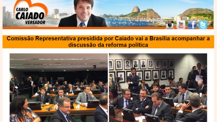 Ver. Carlo Caiado – 04/2015
