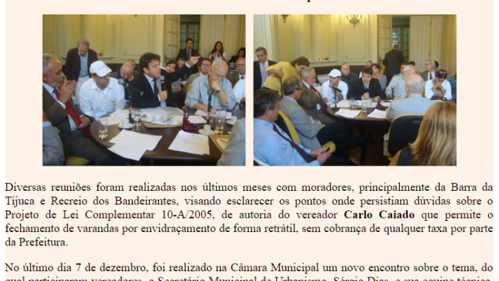Ver. Carlo Caiado – 12/2011