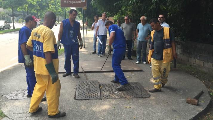 Força tarefa em ação pela despoluição do Canal das Taxas