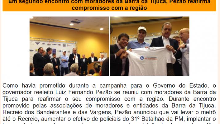 Ver. Carlo Caiado – Diário da Barra 11/2014