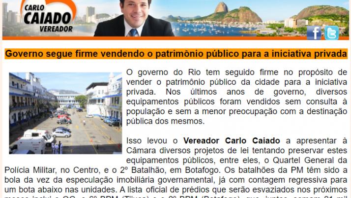 Ver. Carlo Caiado – 04/2013