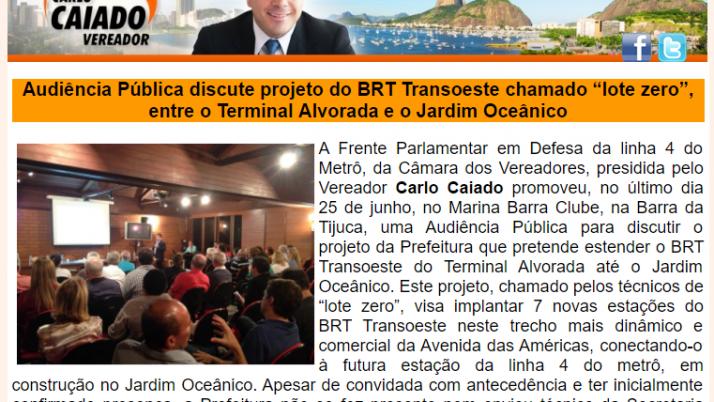 Ver. Carlo Caiado – 06/2013