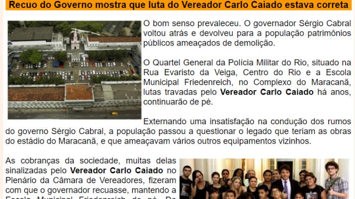 Ver. Carlo Caiado – 08/2013