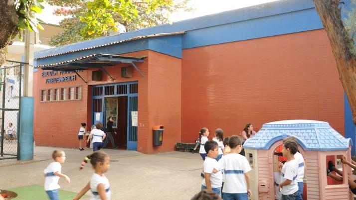 Escola Municipal Friedenreich: Quase três anos de patrimônio educacional da Cidade