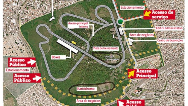 Novo Autódromo do Rio: Caiado solicita agenda no com Ministro dos Esportes para tratar sobre o tema