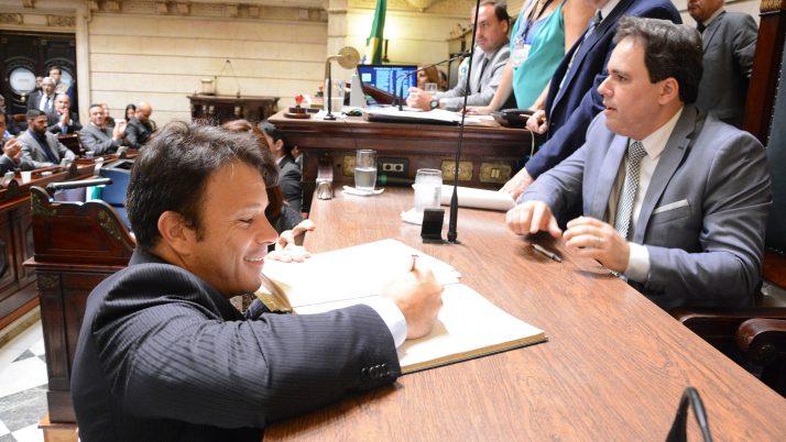 Vereador Carlo Caiado é eleito Primeiro Secretário da Câmara de Vereadores